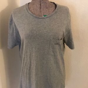 Banana republic grey T-shirt with pocket